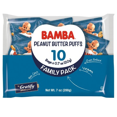 Bamba Peanut Butter Baby Puffs Family Pack - 7oz