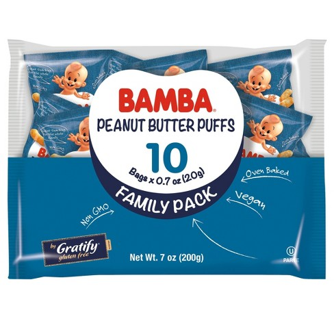 Bamba Peanut Butter Baby Puffs Family Pack - 7oz - image 1 of 1