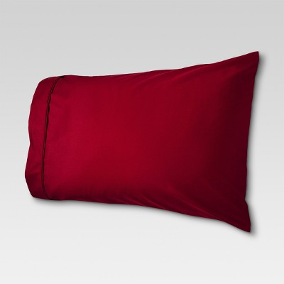 Performance Solid Pillowcase (King)Red 400 Thread Count - Threshold™