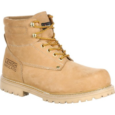 Men's Lehigh Safety Shoes Steel Toe 200G Insulated Work Boot
