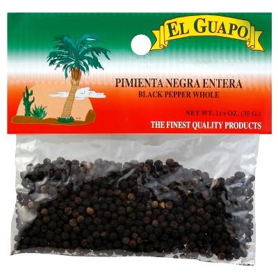 El Guapo Whole Black Pepper - 1.25oz
