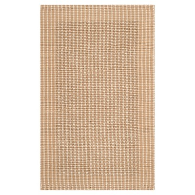 Turner Natural Fiber Accent Rug - Ivory / Beige (3' X 5')- Safavieh®