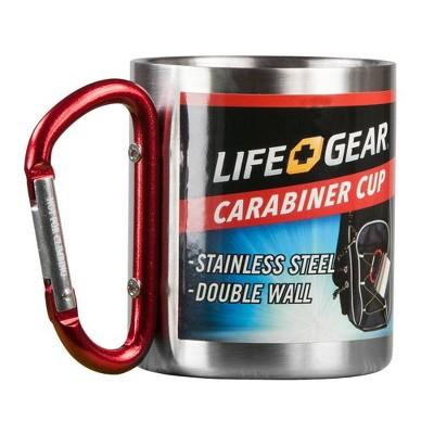 Life Gear 8oz Carabiner Camp Mug