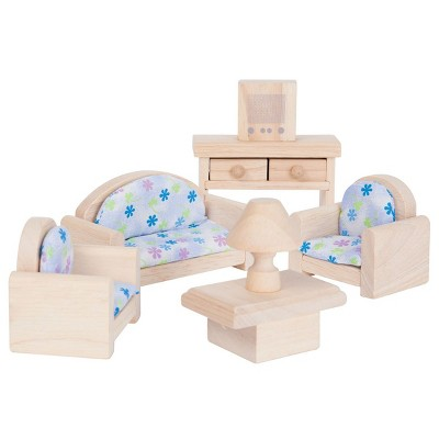 Plan Toys Classic Living Room Doll House Furniture