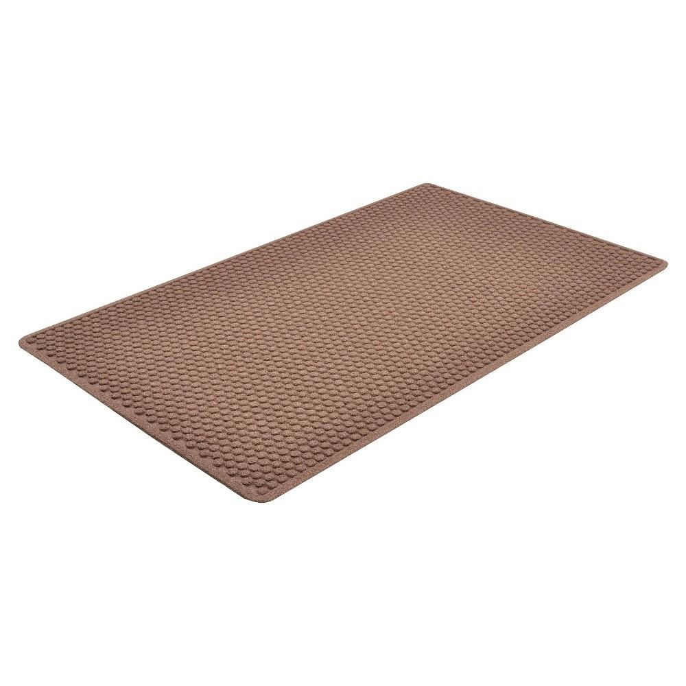 Brown Solid Doormat - (3'X5') - HomeTrax