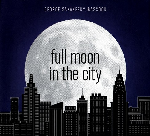 George sakakeeny - Full moon in the city (CD) - image 1 of 1