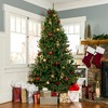 Best Choice Products 7.5ft Pre-Lit Hinged Artificial Fir Christmas Tree w/ 700 LED Lights, 7 Light Sequences - image 3 of 4