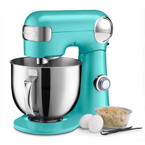 Cuisinart Precision Master 5.5qt Stand Mixer - Robin's Egg Teal - SM-50TQ - image 1 of 4