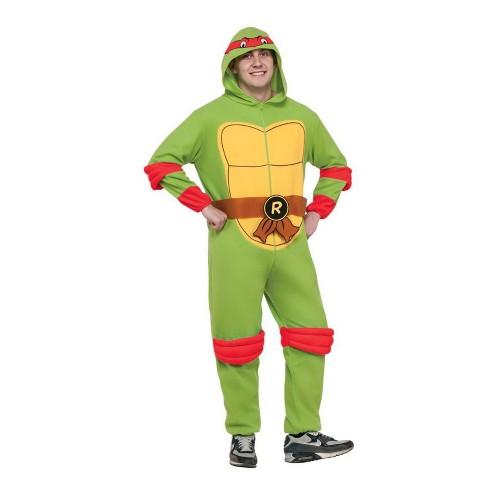 Men's Teenage Mutant Ninja Turtles Michelangelo Halloween Costume S - image 1 of 1