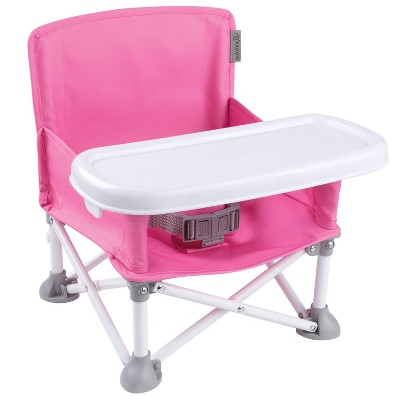 Summer Infant Pop 'N Sit Portable Infant Booster Seat - Pink