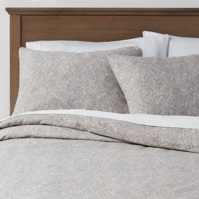 Family Friendly Medallion Duvet Cover & Sham Set - Threshold™
