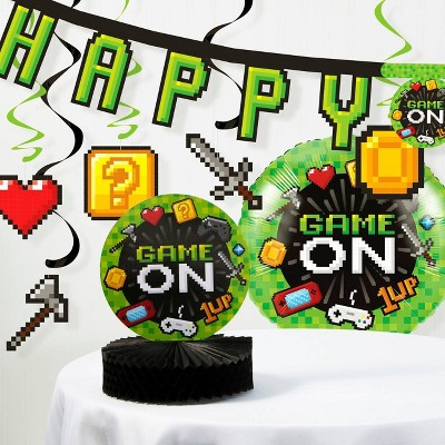 Video Game Birthday Party Decoration Kit