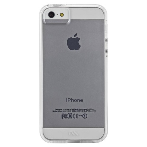 pretty nice c8775 7aa0c Case-Mate iPhone 5/5s/SE Clear Naked Tough Cases