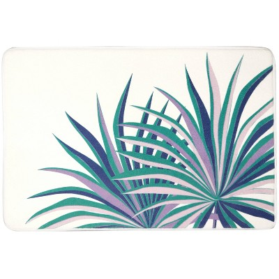 Oversize Palm Bath Rug - Allure Home Creations