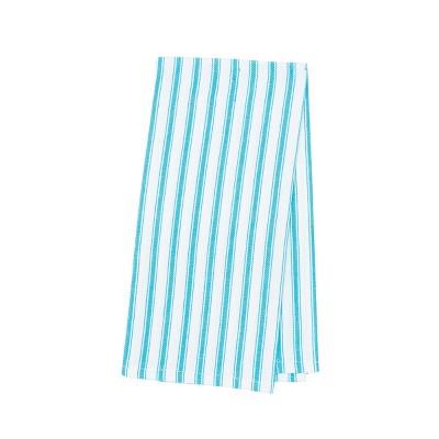 C&F Home Ticking Stripe Woven Cotton Kitchen Towel