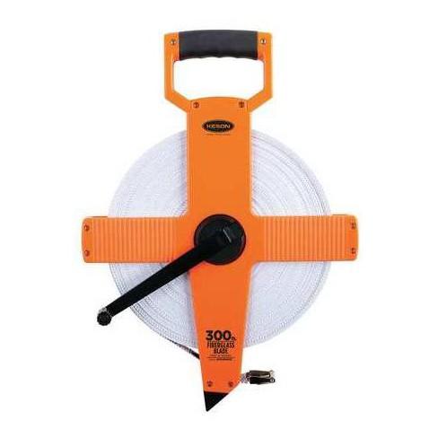 "KESON OTR-18M-300 300 ft./90M Tape Measure, 1/2"" Blade,Pumpkin - image 1 of 1"