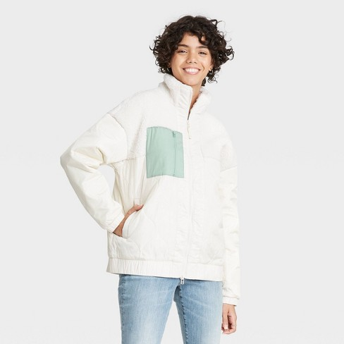 Women's Sherpa Jacket - Universal Thread™ - image 1 of 3