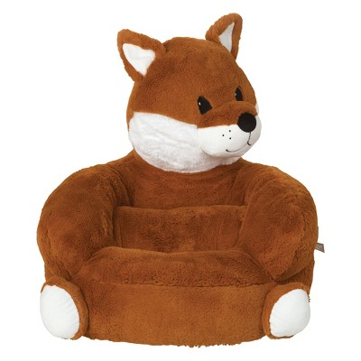 Kids Plush Fox Character Chair   Orange   Trend Lab : Target