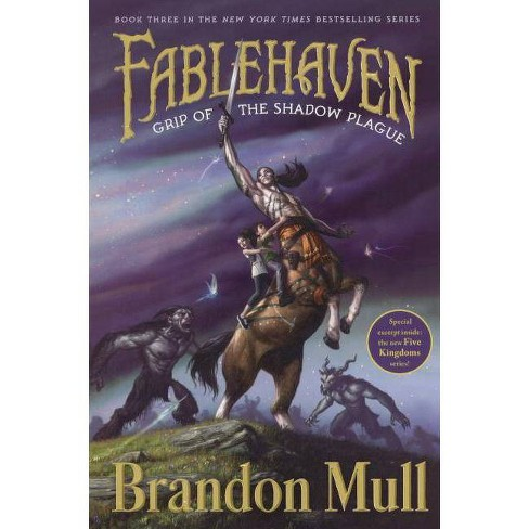 Grip of the Shadow Plague - (Fablehaven) by  Brandon Mull (Hardcover) - image 1 of 1