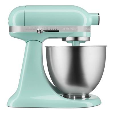 KitchenAid Refurbished Artisan Mini 3.5qt Tilt-Head Stand Mixer Ice Blue - RKSM33XXIC