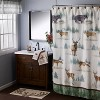 Home on the Range Fabric Shower Curtain - SKL Home - image 3 of 4