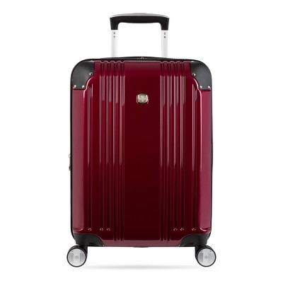 "SWISSGEAR 20"" Hardside Carry On Suitcase - Red"