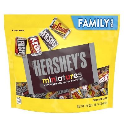 Hershey's Miniatures Chocolate Candy - 17.6oz