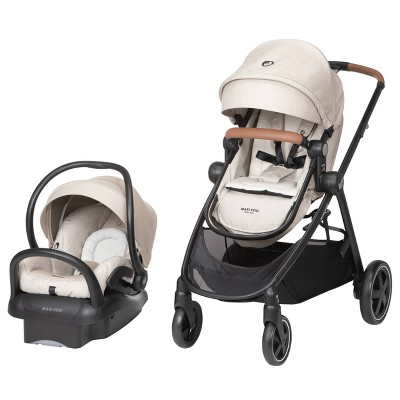 Maxi Cosi Zelia Max 5-in-1 Travel System - Nomad Sand