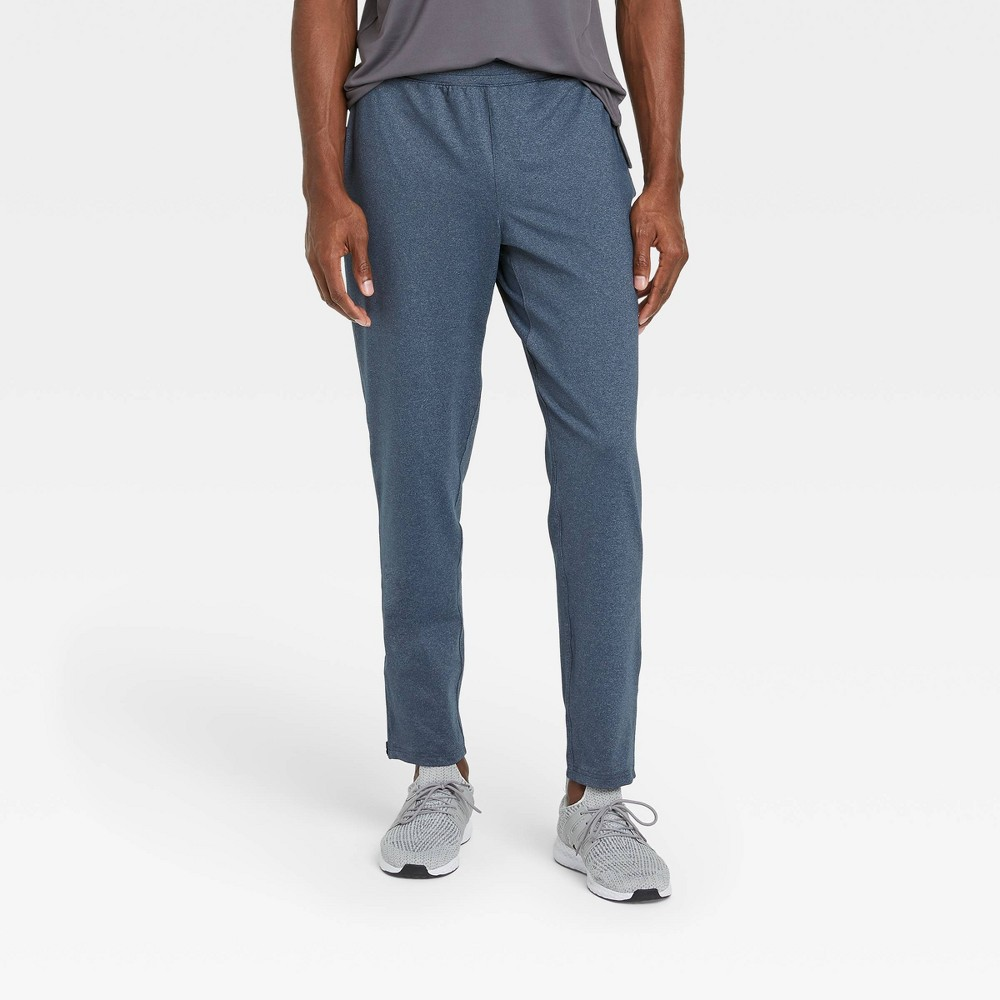 Men 39 S Nylon Jogger Pants All In Motion 8482 Assorted Blues S
