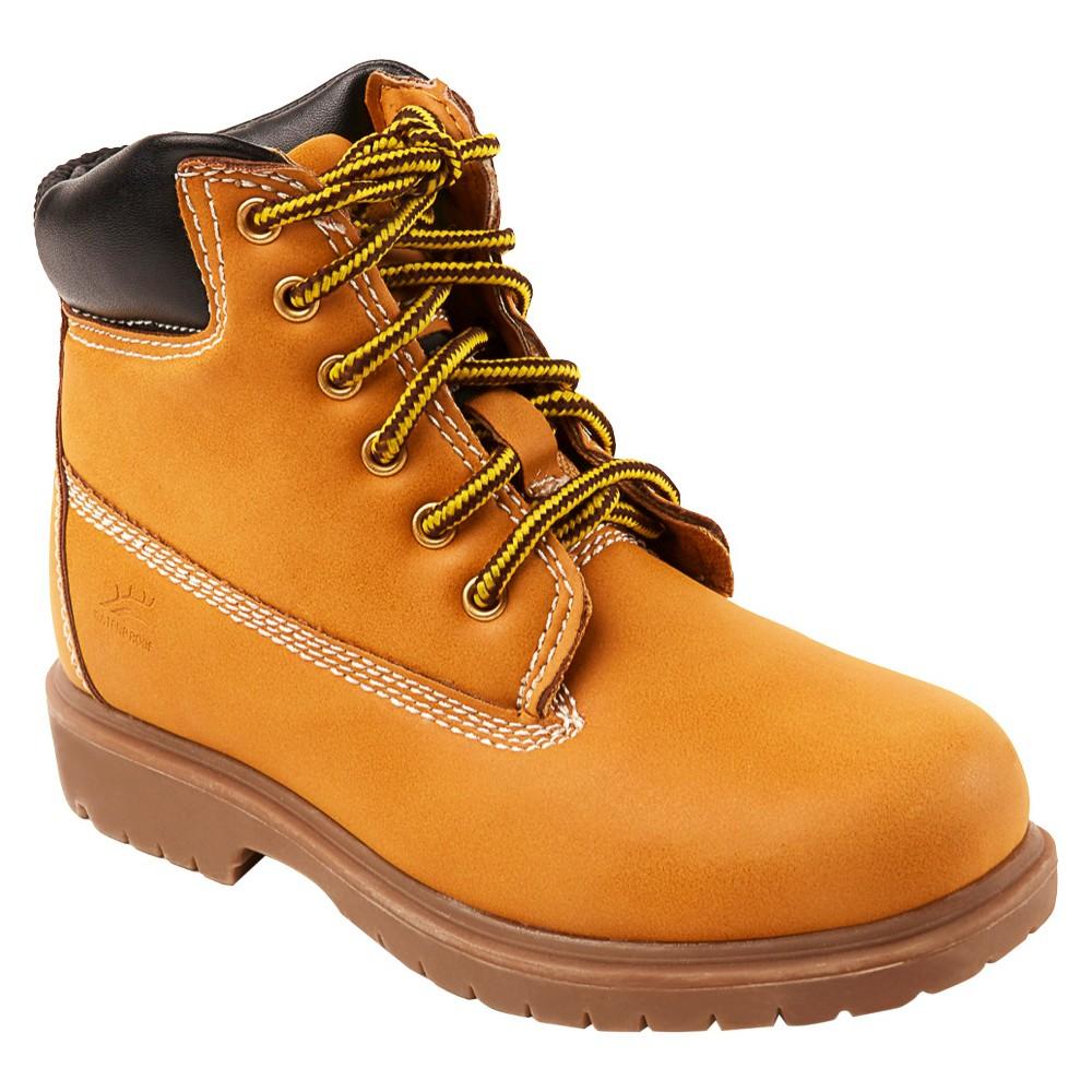 Deer Stags Boys' Mak 2 Water Proof Occupational Boots - Tan 4