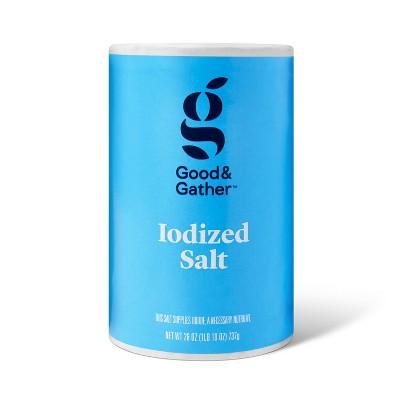 Iodized Salt - 26oz - Good & Gather™