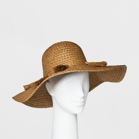 Women's Floppy Hat - A New Day™ Tan - image 1 of 1