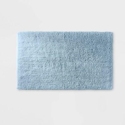 "21""x34"" Ultra Soft Tufted Bath Rug Light Sky Blue - Casaluna™"