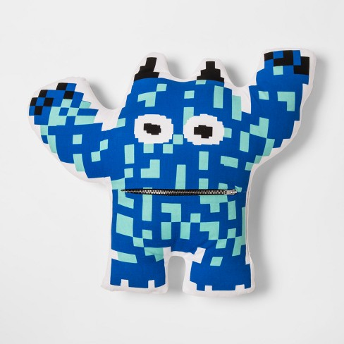 Monster Gamer Throw Pillow - Pillowfort™ - image 1 of 4