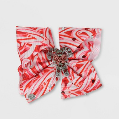 Girls' JoJo Siwa Candy Cane Bow Hair Clip