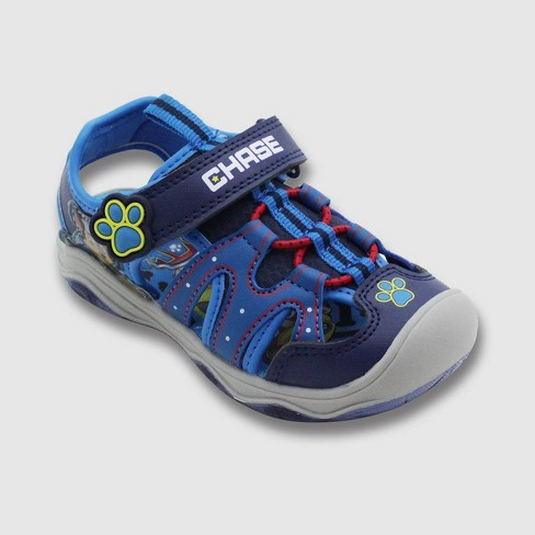 Toddler Boys' PAW Patrol Hiking Sandals - Blue - image 1 of 3