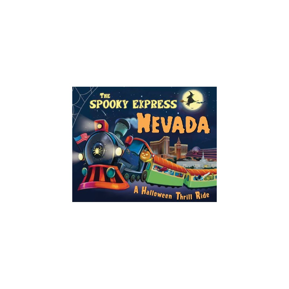 Spooky Express Nevada - by Eric James (Hardcover)