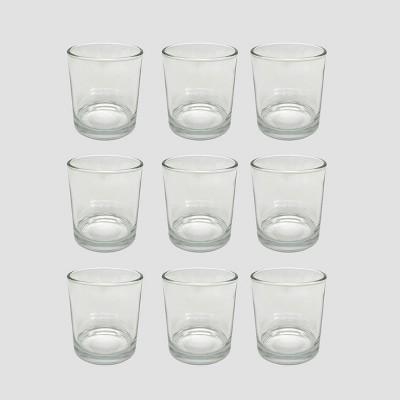 9ct Mercury Glass Votive Holders Clear - Bullseye's Playground™