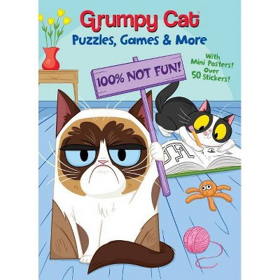 Grumpy Cat Puzzles, Games & More by Rachel Chlebowski (Paperback)