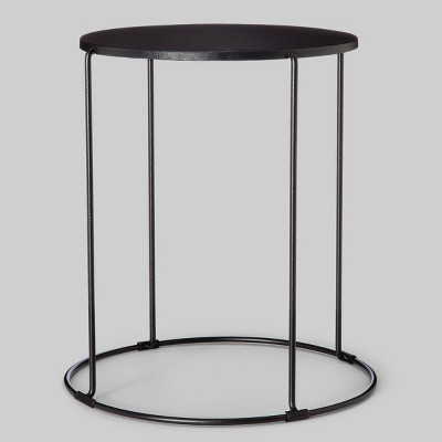 Patio Accent Table Round - Black - Project 62™