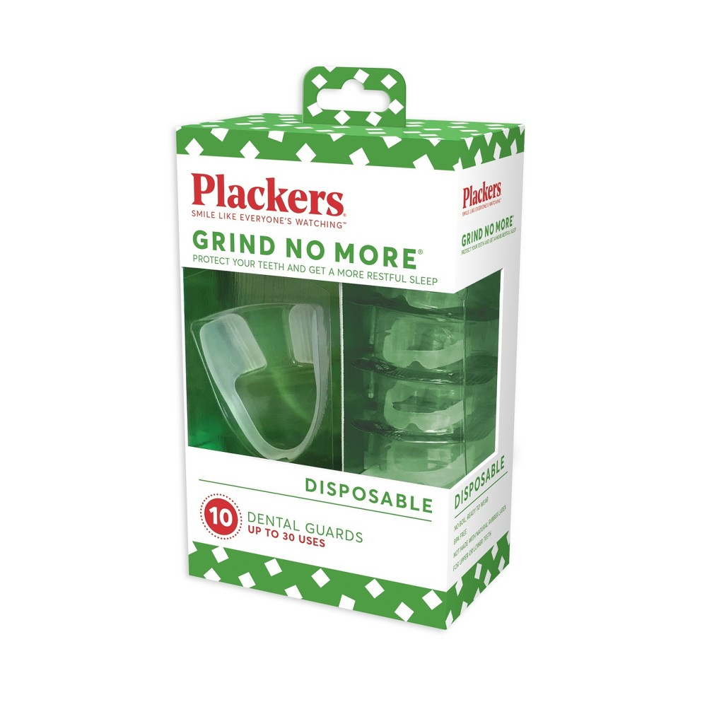 Plackers Grind No More Dental Night Protector - 10ct