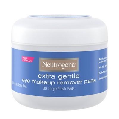 Neutrogena Extra Gentle Eye Makeup Remover Pads - 30ct