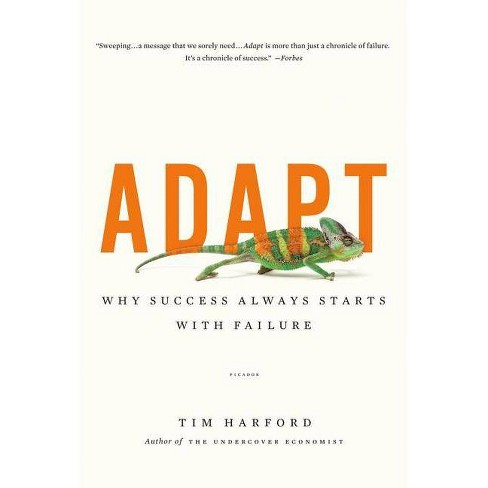 Adapt - by  Tim Harford (Paperback) - image 1 of 1