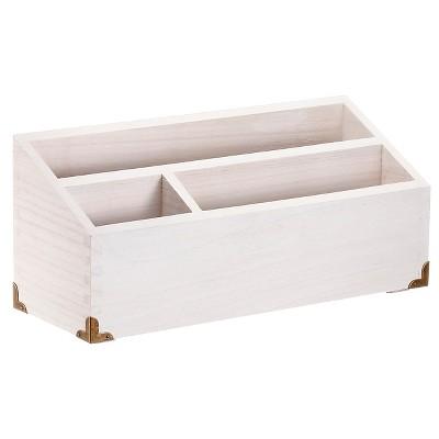 Wood Desktop Storage Unit White - Threshold™