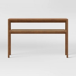 Warwick Narrow Console Table Brown - Threshold™
