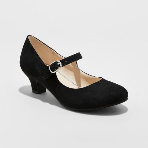 f475c238942 Girls  Stevies  DANCEMODE Dressy Mary Jane Pumps - Black   Target