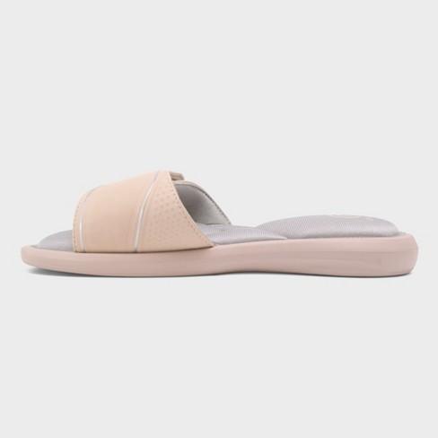 15b79efa0f253 Women s Cala Cush Slide Sandals - C9 Champion® Blush 11   Target