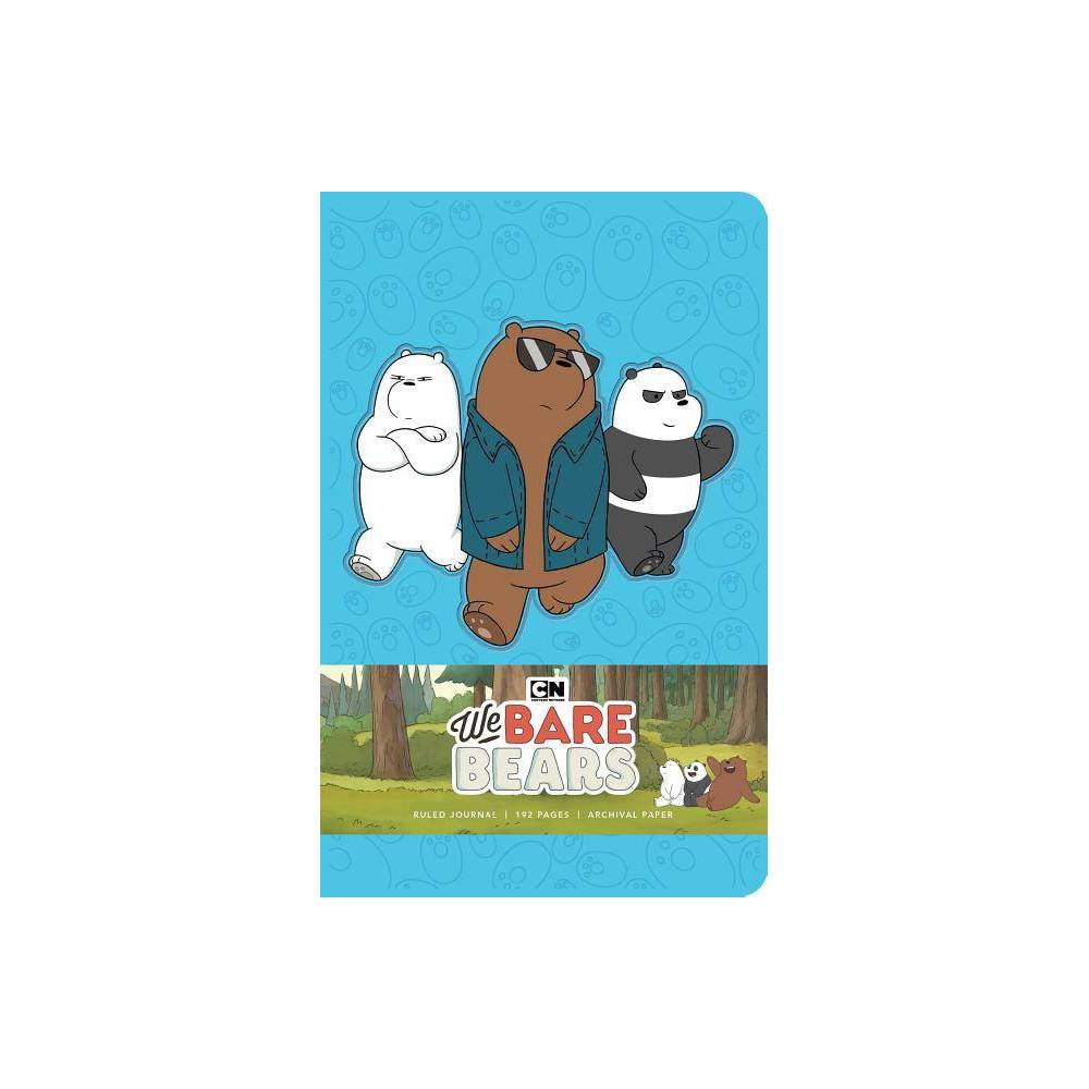 We Bare Bears Hardcover Ruled Journal By Insight Editions