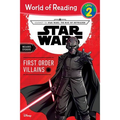 Star Wars World of Reading Book First Order Villains Level 2 - by Michael Siglain (Paperback)