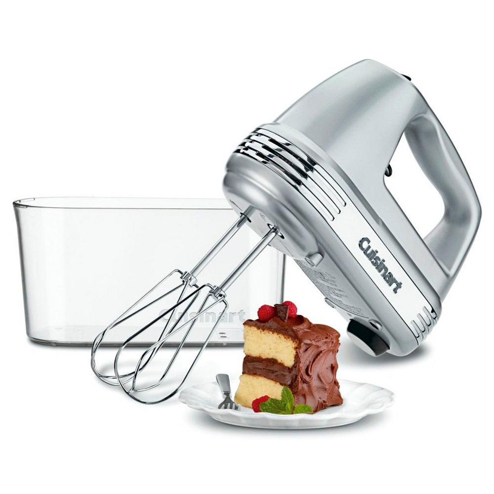 Cuisinart Power Advantage Plus Hand Mixer – Chrome HM-90BCS, Silver 51237384